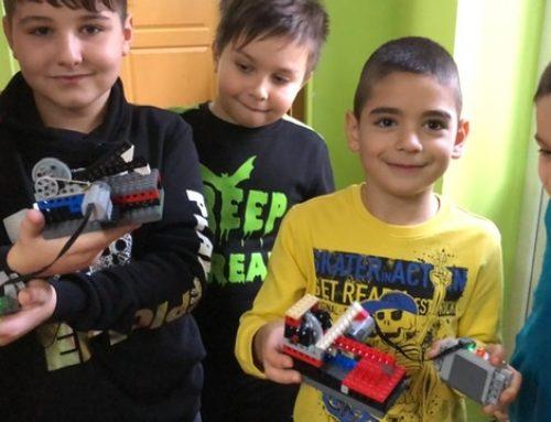 Noiembrie 2020 curs de Robotică